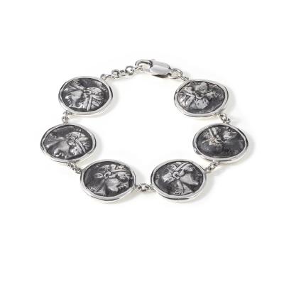 Pulsera de Monedas Romanas Pulsera con monedas Romanas (replicas) Plata 1ªLey.