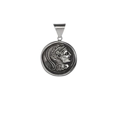 Moneda Romana. Colgante Plata de Ley