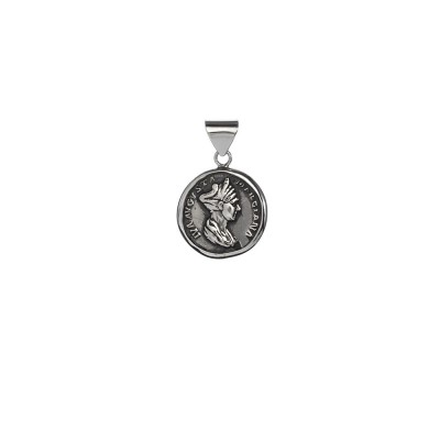 Colgante de Moneda Romana Plata de Ley