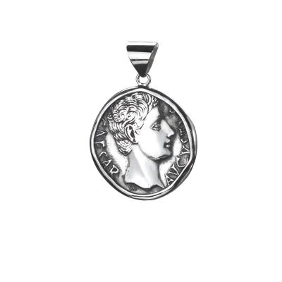Colgante con Moneda Romana. Plata 1ªLey